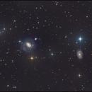 NGC 4151 4145 galaxies,                                Kfir Simon