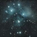 M45 Pleiades,                                Justin Hendrickson