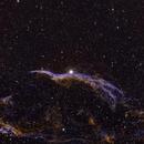 Western Veil Nebula,                                jsines