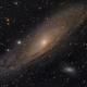 The Andromeda Galaxy (M31),                                Josh Woodward