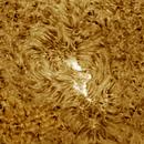 Solar chromosphere 20200405,                                Sergio Alessandrelli