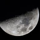 First Quarter Moon,                                Shannon Calvert