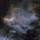 Pelican Nebula IC 5070,                                Harri Kiiskinen