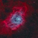 Lagoon Nebula, M8, NGC 6523,                                Will Czaja