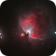 Orion Nebula and Running Man,                                urmymuse