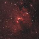 Cave Nebula,                                Dan Vranic