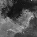 NGC7000 Ha,                                F83eric