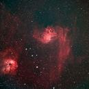 Flaming Star Nebula - IC 405,                                Jared Holloway