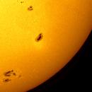 Sunspot AR2673/74,                                Rathi Banerjee