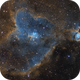 IC 1805 The Heart Nebula SHO,                                Chris Fellows