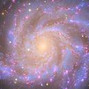 M101 and  NGC 5474,                                meeus
