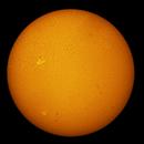 NOAA AR 2859 & 2860 on August 25th, 2021,                                John O'Neal, NC Stargazer