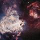 M17 Omega Nebula BI Color RGB Stars,                                John Travis