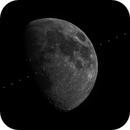 ISS transit on the Moon - 31st May 2020,                                Alessandro Carrozzi