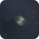 M27. First light of new camera.,                                Lepidopterous