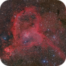 IC1805 Heart Nebula in (R+HA)GB,                                Kayron Mercieca