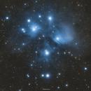 Messier 45 - The Pleiades,                                Henrique Silva