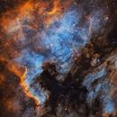 North American Nebula SHO,                                Matthew Proulx