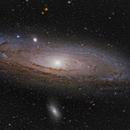M31, a Hyperstar color image,                                Niels V. Christensen