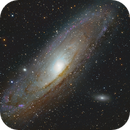 M31 with NGC206,                                OrionRider