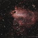 Swan Nebula - M17,                                RCompassi