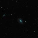 M81 & M82 pre supernova 2013/14,                                Florian Drews