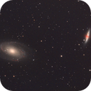 Bode's & Cigar Galaxies (M81, M82),                                apothegary