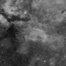 Sadr/NGC6888 Area H-alpha Mosaic (Crop),                                mikefulb