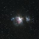 M42, NGC1973, NGC1975, NGC1977 - Orion nebula, Running Man nebula,                                Michal Vokolek