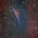 The Pencil Nebula,                                Simon