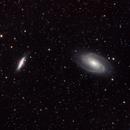 M81-M82 (Bode's nebula and Cigar Galaxy),                                Arvind H.