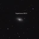 Supernova 2021J in NGC4414,                                NewfieStargazer