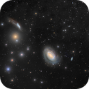 NGC 4725 and Friends,                                Eric Coles (coles44)