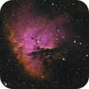 The Pacman Nebula, NGC 281 in HSO,                                Madratter
