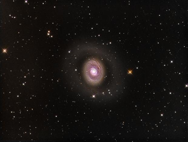 Croc's Eye Galaxy (M94) in LRGB,                                Jose Carballada