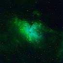 Adlernebel M16 Narrowband Bicolor,                                Caspar Schumann