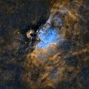 Messier 16 en SHO,                                Georges