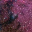 NGC 6188 Closeup (LRGB),                                Miles Zhou