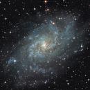The Triangulum Galaxy (M33) - L-RGB,                                Olivier Ravayrol