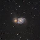 M51 - Whirlpool Galaxy,                                Samuel Müller