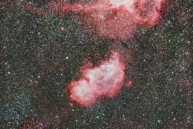 IC1848 - The Soul Nebula,                                Peter Webster