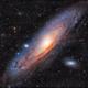 Messier 31 LHaRVB,                                Georges