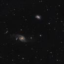 NGC 3718 and NGC 3729,                                Sterntaucher
