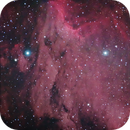 Pelican Nebula reprocessed,                                Göran Nilsson