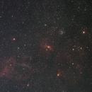 M52 and bubble nebula,                                JarmoK
