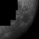 Lune mosaique ED80,                                Laurent