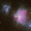 M42 Orionnebel,                                Tino Leichsenring