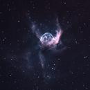 Thor's Helmet NGC 2359 Bi-colour,                                Barczynski