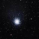 M 13 Gran cúmulo de Hercules,                                Astrofotografia A.R.B.