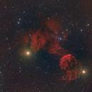 IC443 and IC444 in HaRGB,                                Erik Guneriussen